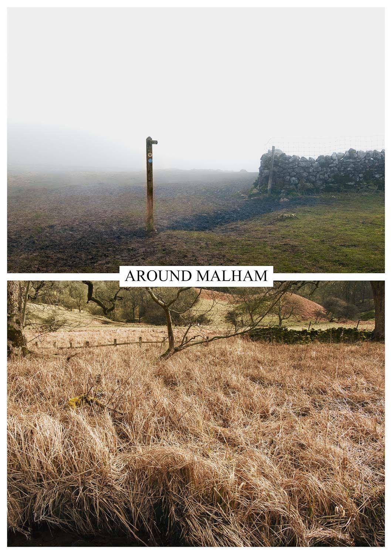 postcard of unspectacular landscapes, Malham
