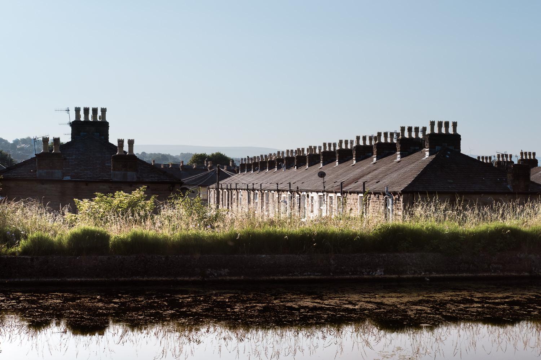Terraced housing, Burnley Bank