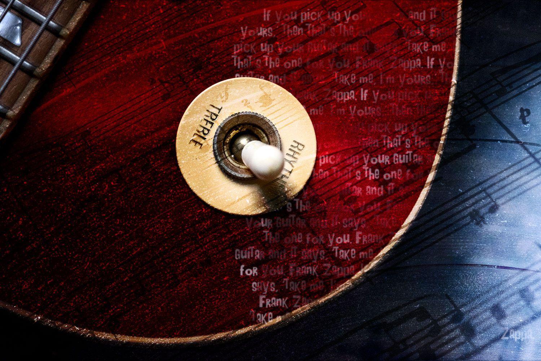 fine art photo electric guitar composite