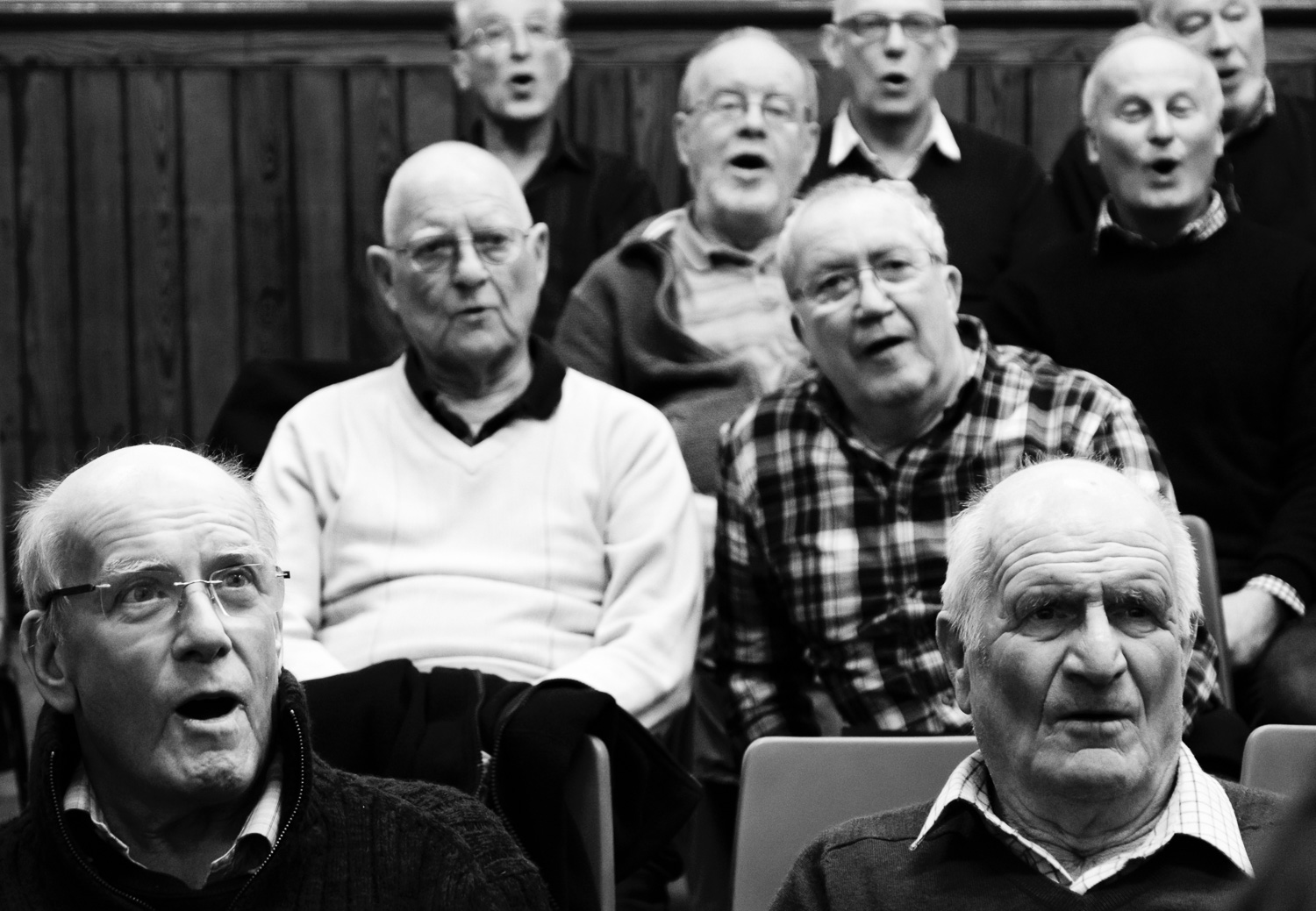 Rehearsals, Steeton Methodist Hall